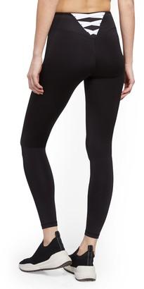 New York & Co. Black Crisscross-Back Legging