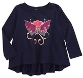 Tea Collection Infant Girl's Willowhill Graphic Tee