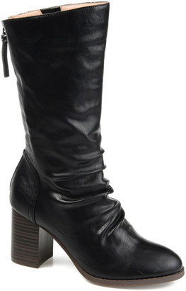 Journee Collection Sequois Slouch Heeled Boot