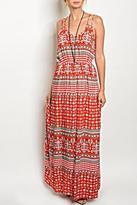 Entro Maxi Red Dress