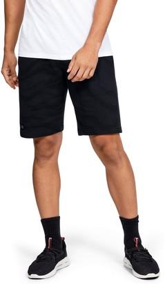 Under Armour Men's UA Rival Fleece Printed Shorts