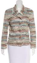 Missoni Patterned Button-Up Blazer
