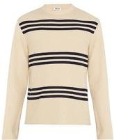 Acne Studios Ker Stripe Ribbed-knit Sweater