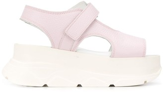 Joshua Sanders Wedge Sole Sandals