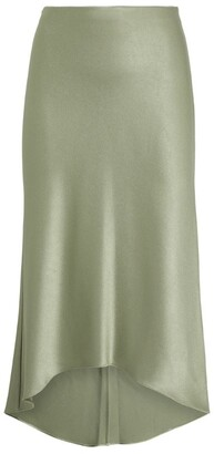 Alice + Olivia Maeve High-Low Midi Skirt