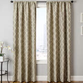 JCPenney SOFTLINE HOME FASHIONS Princeton Rod-Pocket Curtain Panel