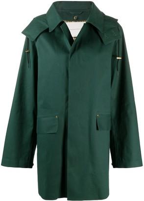 MACKINTOSH Single-Breasted Mid-Length Coat