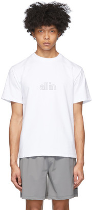 all in White Wave T-Shirt