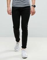 Wrangler Bryson Skinny Jeans Black Wash