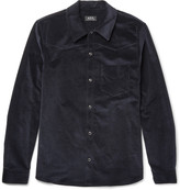 A.p.c. - Slim-fit Stretch-cotton Corduroy Western Shirt