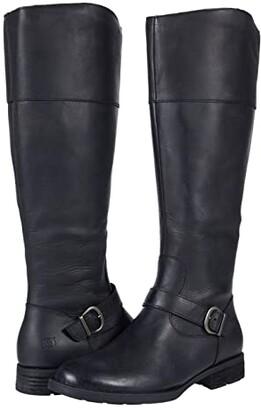 Børn Braydon (Black Full Grain) Women's Boots
