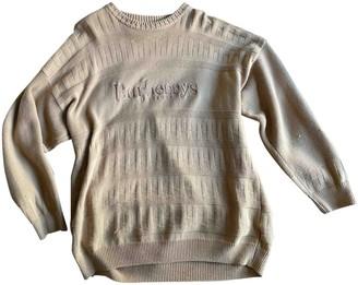 Burberry Beige Wool Knitwear for Women Vintage