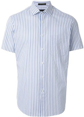 Durban D'urban striped short sleeve shirt