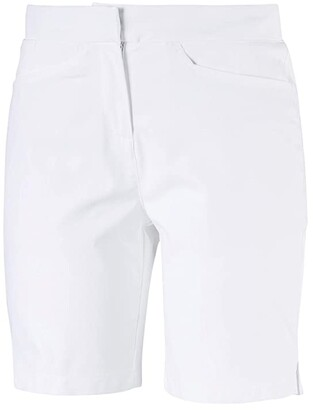 Puma Pounce Bermuda (Bright White) Women's Clothing