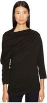 Vivienne Westwood Liberate Drape Neck Long Sleeve Top Women's Clothing