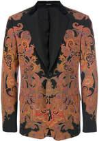 Alexander McQueen Engineered Paisley blazer