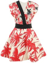 Fausto Puglisi Ecru Silk Dress for Women