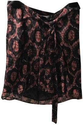 Isabel Marant Red Silk Skirt for Women