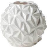 Torre & Tagus Crumple Ball Small Ceramic Vase