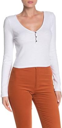 Cotton On Lylah Henley Rib Knit Shirt