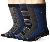 Nautica Men's Fashion 5 Pack Dress Sock