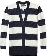 Tommy Hilfiger TH Kids Soft Stipe Cardigan