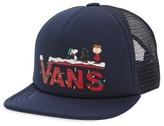 Vans Boy's X Peanuts Holiday Trucker Hat - Blue