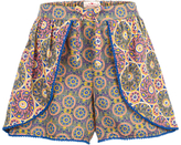 Fat Face Girls' Heidi Shorts, Khaki