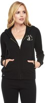 Juicy Couture Cashmere Sweater Hoodie W/ Sequin Back