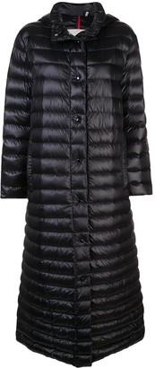 Moncler long length padded jacket