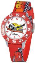Disney Cars Kid's Time Teacher Watch- Red Printed Strap