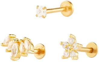 Wanderlust + Co Classic Piercing Earring Set