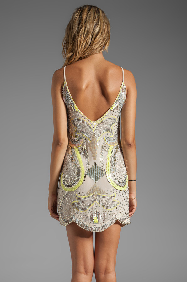 Bless'ed Are The Meek Neon Nights Dress