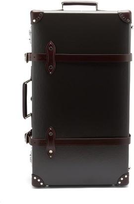 "Globe-trotter Centenary 30"" Suitcase - Dark Brown"