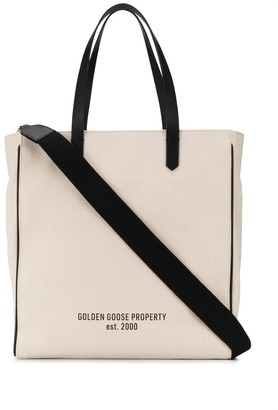 Golden Goose monochrome tote bag