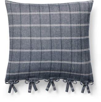 "Lauren Ralph Lauren Eva Windowpane 18"" Square Decorative Throw Pillow Bedding"