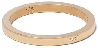 Le Gramme 18kt yellow polished gold 5 Grams Ribbon ring