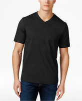 Club Room Men's Cotton V-Neck T-Shirt, Only at Macy's