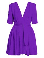 Stella McCartney Belted Silk Mini Dress