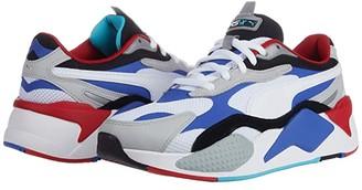 Puma RS-X3 Puzzle White/Dazzling Blue/High-Rise) Men's Shoes