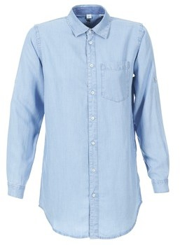G Star Raw CORE BF 1PKT women's Shirt in Blue