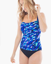 Chico's Cool Waves Tankini Top