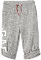 Gap Logo roll-up pants