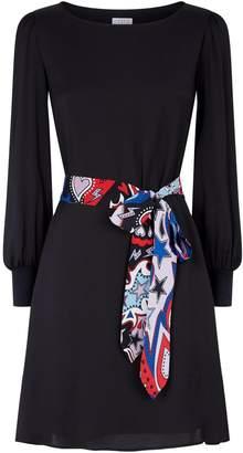 Claudie Pierlot Self-Tie Dress