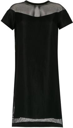 Gloria Coelho Armadura shift dress