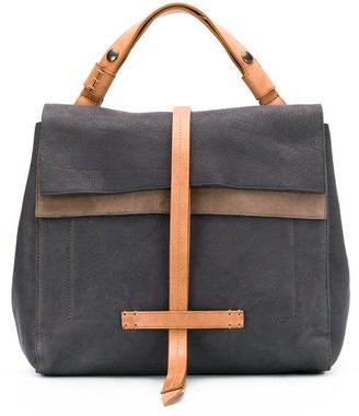 Officine Creative Seurat foldover-top tote bag