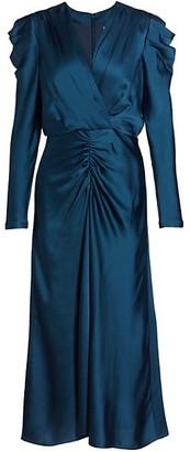 Jonathan Simkhai Maisie Charmeuse Midi Dress