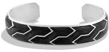 David Yurman Forged Carbon Cuff Bracelet