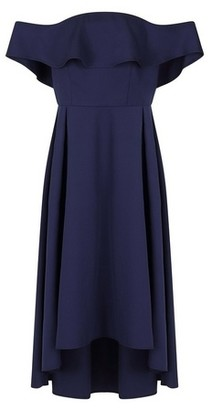 Dorothy Perkins Womens Chi Chi London Blue Yazmina Dress, Blue