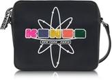 Kenzo Black Leather Nasa Camera Bag